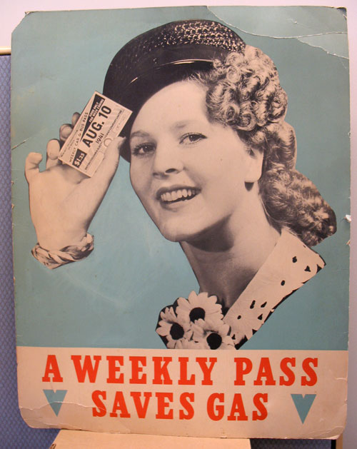A Weekly Pass Saves Gas