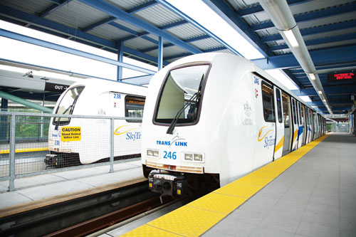 The 2009 budget will support many major initiatives that are reaching completion, such as the 48 new SkyTrain cars set to arrive next year.
