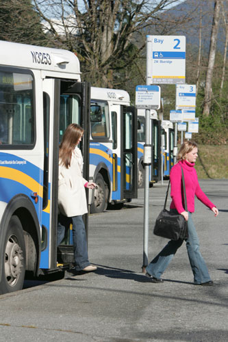 North Vancouver service will see a boost, thanks to Capilano University joining the U-Pass program in January 2009.