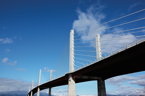 The Golden Ears Bridge!