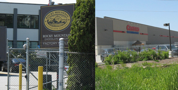 A few stops along the way in Burnaby's industrial areas.