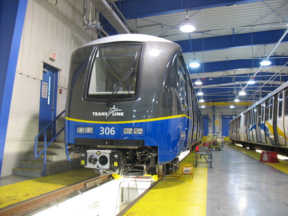 One of the new Mk II SkyTrain cars will start on our system tomorrow---July 3!