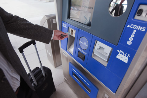 Smartcards will eventually replace all forms of tickets and passes on our system.
