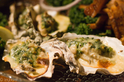 Rodney's Oyster House: oysters Rockefeller