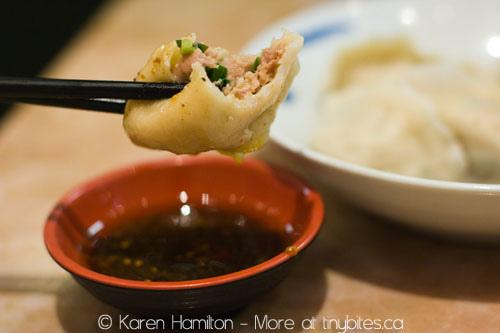Peaceful Restaurant: Mandarin pork dumplings