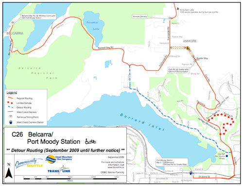 The C26 reroute for September 8. Here's a <a href=http://buzzer.translink.ca/wp-content/uploads/2009/09/rc26_detour_sept09.pdf>bigger PDF copy</a> of the map.