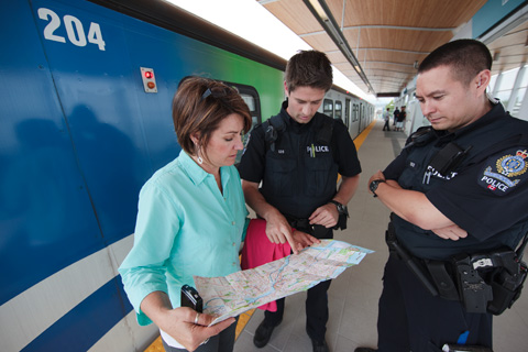 In tidbits today, the Transit Police have released their 2008 Report to the Community.