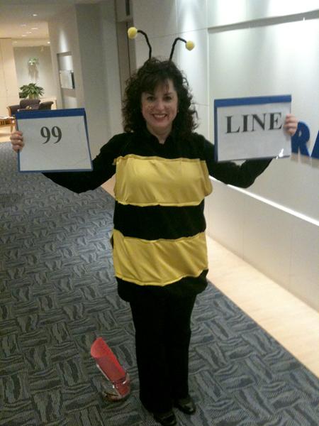 The B-Line bee!