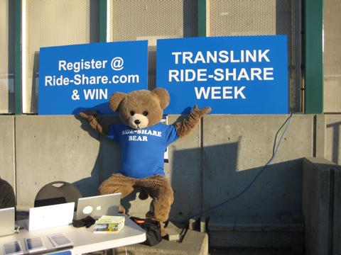 Ride-Share bear!