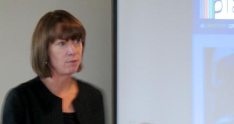 Janette Sadik-Khan, speaking at a TransLink presentation this afternoon.