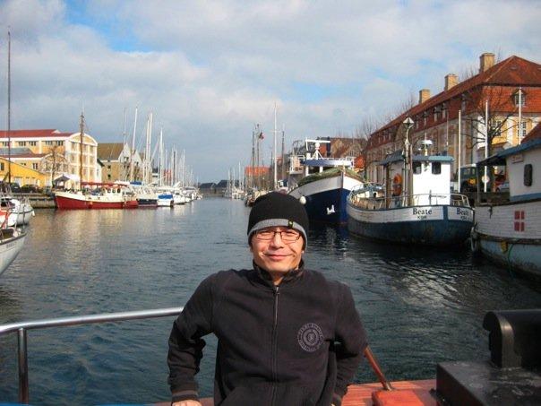 Zhenwang Yao, the developer of iBusVan, in Copenhagen!