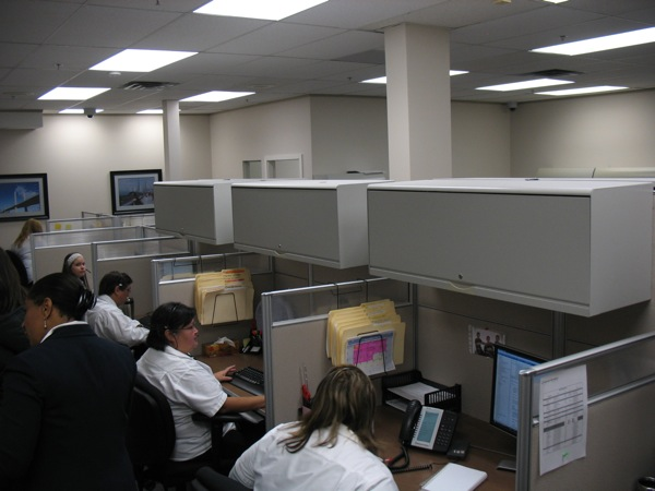 The call centre at Quickpass.