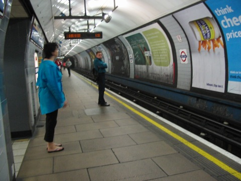 The tube on July 8, 2005.