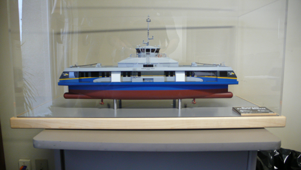 A model of the Burrard Pacific Breeze!