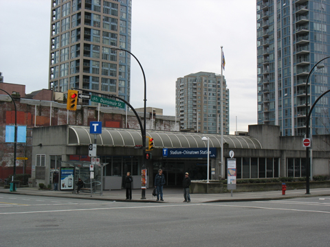 After your event, please enter Stadium-Chinatown Station through the Beatty St entrance.