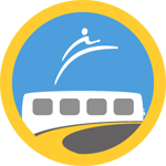 Our TransLink transit champion badge on Foursquare!