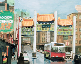 Visions of Chinatown by Nytia Wu.