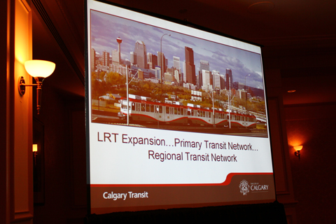 First slide from the Calgary update.