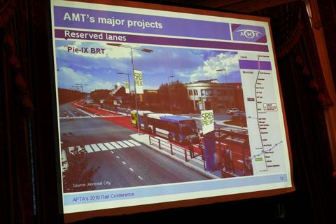 The Pie-X BRT slide.