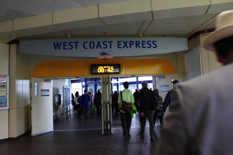 To the West Coast Express!