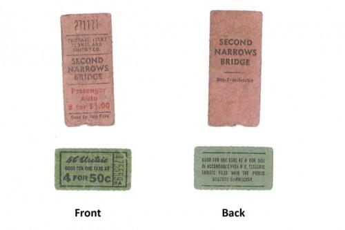 1920s tickets