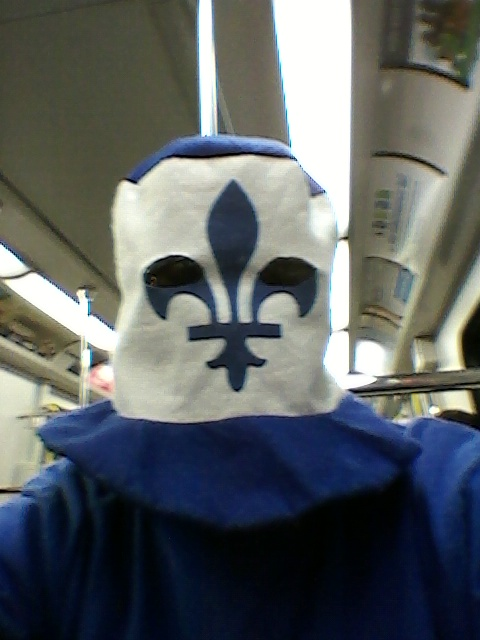 Karl Turgeon sent in the image of his French Canadian costume.