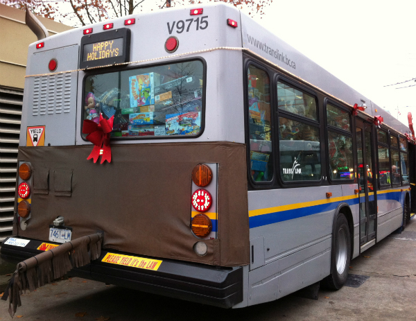 Toys on the ReindeerBus
