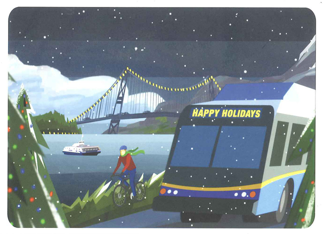Have a happy holidays on transit everyone!