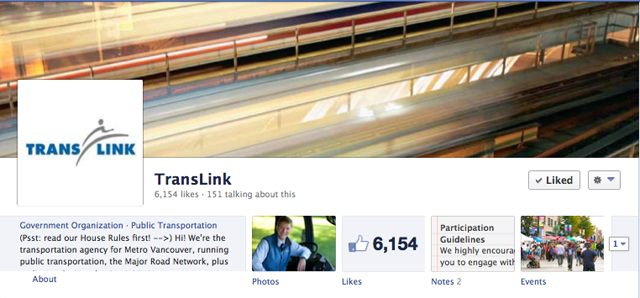 Join us on the TransLink Facebook page today for a real-time chat with Brian Revel!