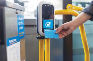 Tap in, tap out with a Compass Card to easily transfer between all transit modes!