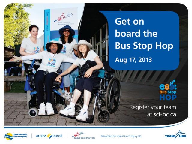 Bus Stop Hop 2013