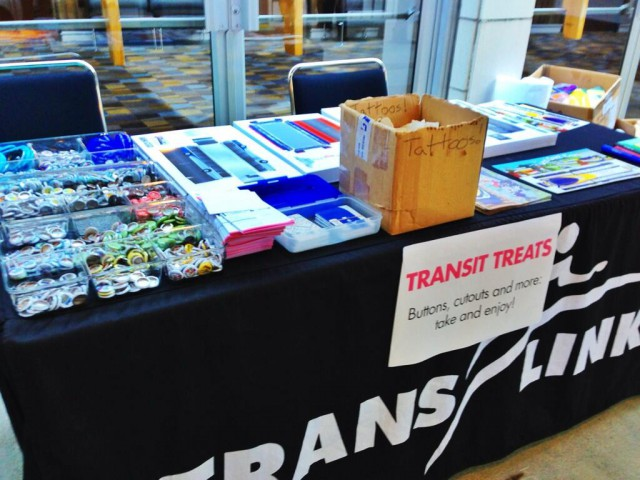 Transit treats for people to grab!