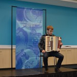 Great audition on the accordion
