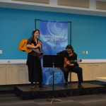 One of the few duo performances