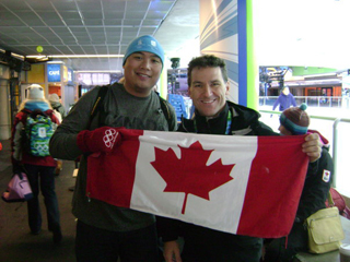 Burt and Elvis Stojko!