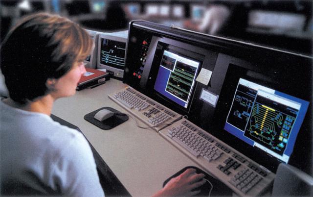 BCRTC Control Room Circa 1999