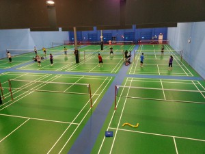 """badminton vancouver, from above"" by Wyn Lok is licensed under CC BY-NC-ND 2.0"