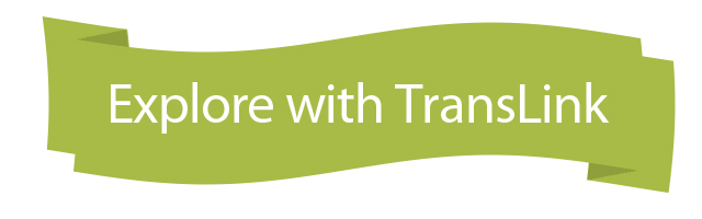 Explore with TransLink banner