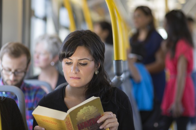 Do you read in transit?