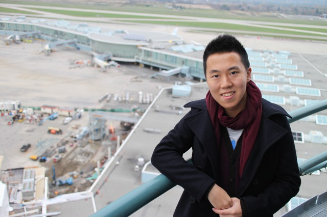 Jasper Tam is one of 200 million passengers on the Canada Line!