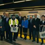 Canada Line 200 million passengers – Samantha