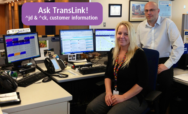 TransLink Customer Information Twitter team earns top nods in new study