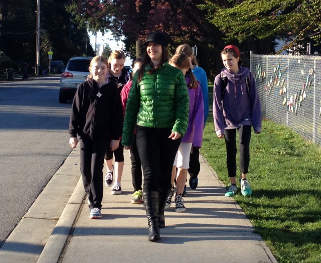 International Walk to School Week 21015 runs Oct 5-9!
