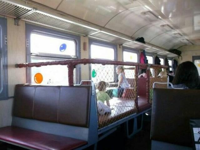Play pen transit car