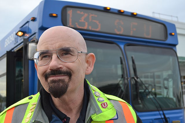 Bill Laird, Coast Mountain Bus' very own Walter White...of sorts