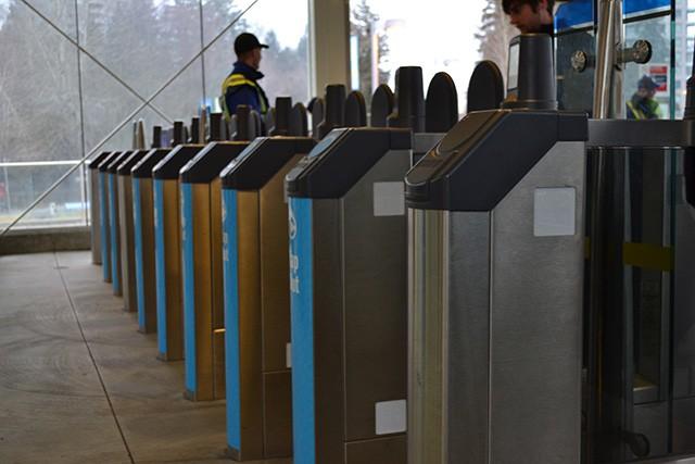Gates closed testing at Sapperton Station