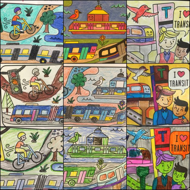 Colouring contest collage