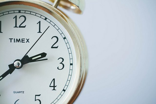 Remember to set those clocks back!