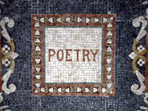 Poetry mosaic
