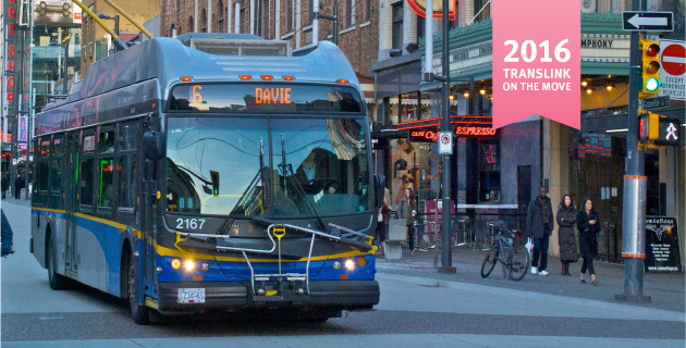 TransLink on the Move Transportation Improvements
